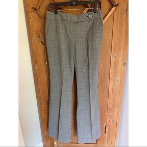 Tory Burch grey wool wide leg slacks size 4